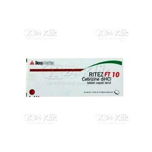 Apotek Online - RITEZ FT 10MG TAB 30S
