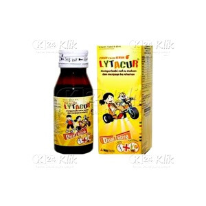 JUAL LYTACUR SYR 60ML