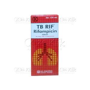 Apotek Online - TB RIF SYR 120ML