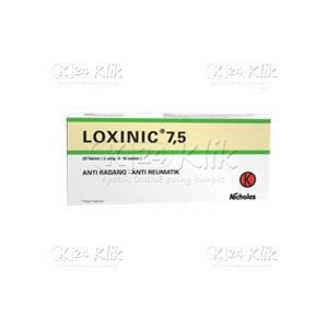 JUAL LOXINIC 7,5MG TAB 30S