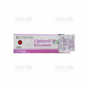 Apotek Online - LIPINORM 20MG TAB 30S