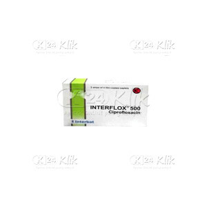 JUAL INTERFLOX 500MG CAP 12S