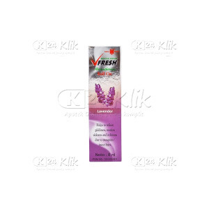 Apotek Online - MINYAK ANGIN V FRESH LAVENDER ROLL ON 8ML