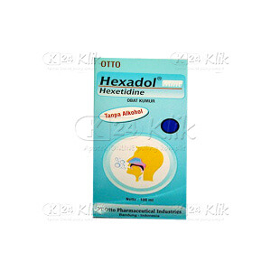 JUAL HEXADOL MINT GARGLE 100ML