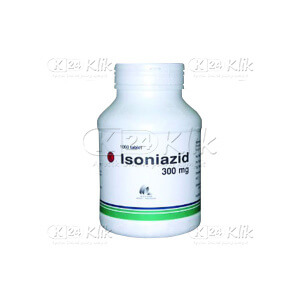 Apotek Online - ISONIAZIDE/INH INDO FARMA 300MG TAB 1000S