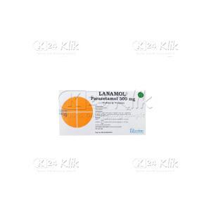 Apotek Online - LANAMOL 500MG TAB 100S