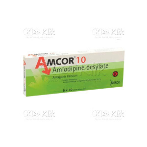 JUAL AMCOR 10MG TAB 50S