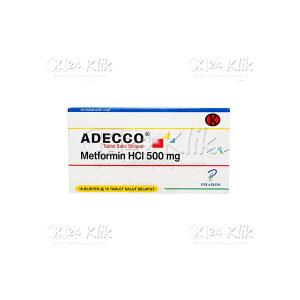 JUAL ADECCO 500MG TAB 100S