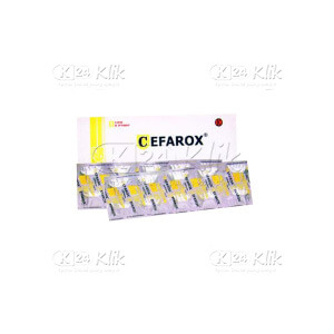 Apotek Online - CEFAROX 100MG CAP 20S
