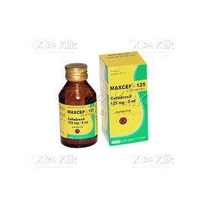 JUAL MAXCEF 125MG/5ML D SYR 60ML