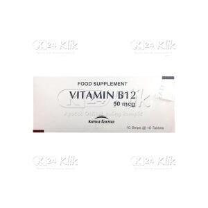 Apotek Online - VITAMIN B12 100MCG TAB