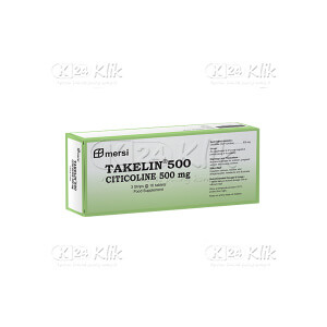 JUAL TAKELIN 500MG TAB 30S