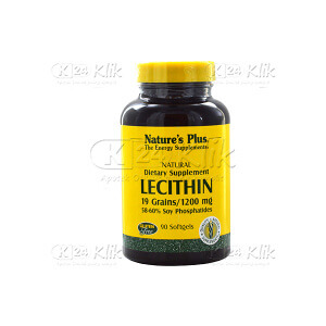 JUAL NATURE PLUS LECITHIN 1200MG TAB SOFTGEL 60'S