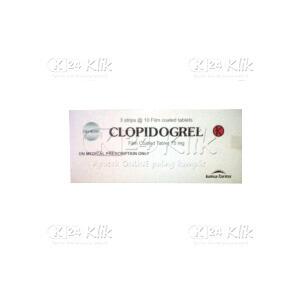 Apotek Online - CLOPIDOGREL KIMIA FARMA 75MG TAB 30S
