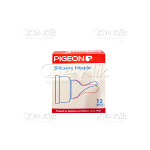 JUAL PIGEON SILICONE NIPPLE S 12'S