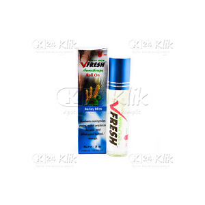 JUAL MINYAK ANGIN V FRESH BARLEY MINT ROLL ON 4ML