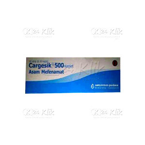 Apotek Online - CARGESIC 500MG TAB 100S