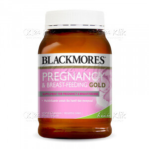 JUAL BLACKMORES PREGNANCY BREAST FEED GOLD SOFTCAP 60S