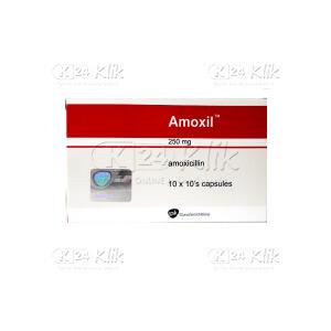 JUAL AMOXIL 250MG TAB 100S