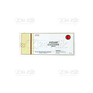 Apotek Online - PEDAB 80MG TAB 100S