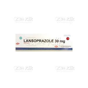 JUAL LANSOPRAZOLE SOHO 30MG CAP 20S
