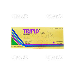 JUAL TRIPID CAP 100S