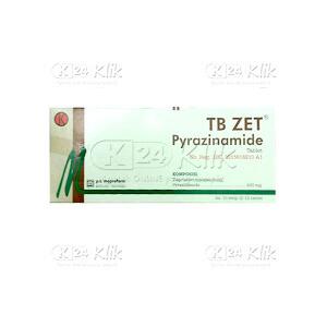 Apotek Online - TB ZET 500 MG TAB 100S