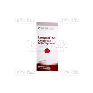JUAL LONGCEF 125MG/5ML SYR 60ML