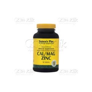 Apotek Online - NATURE PLUS CALCIUM MAGNESIUM ZINC CAP 60'S