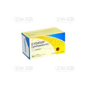 JUAL CYDIFAR 4MG TAB 100S