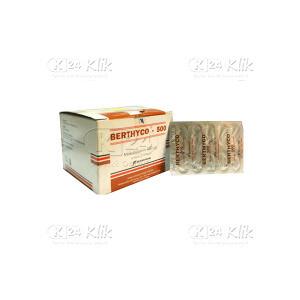 Apotek Online - BERTHYCO 500MCG CAP 100S