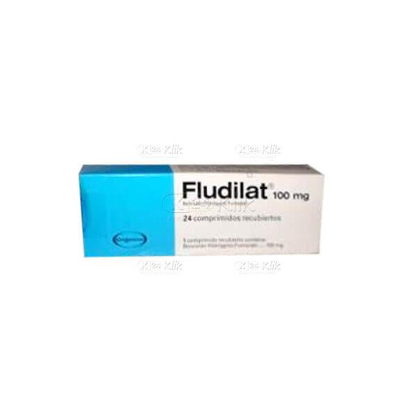 Apotek Online - FLUDILAT 100MG TAB 50S
