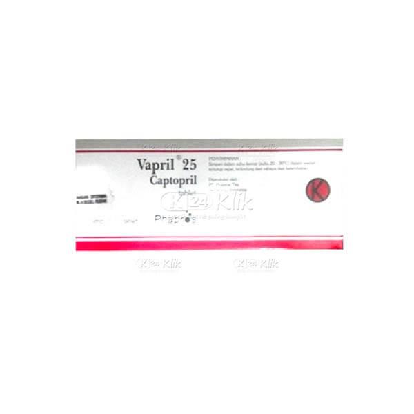 JUAL VAPRIL 25MG TAB 100S