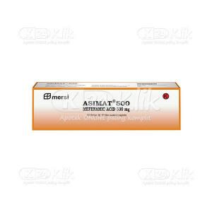Apotek Online - ASIMAT 500MG CAPL 100S