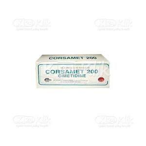 JUAL CORSAMET 200MG TAB 100S