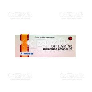 JUAL DIFLAM 50MG TAB 50S