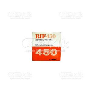 Apotek Online - RIF 450MG TAB 100S