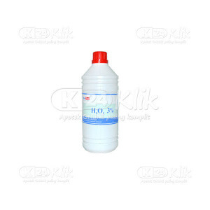 JUAL ONE MED PERHIDROL 3% 100ML