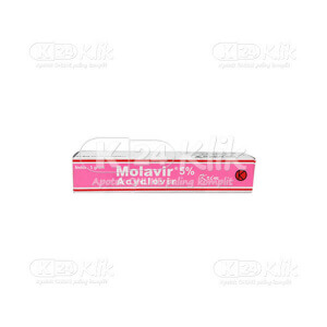 JUAL MOLAVIR 5% CR 5G