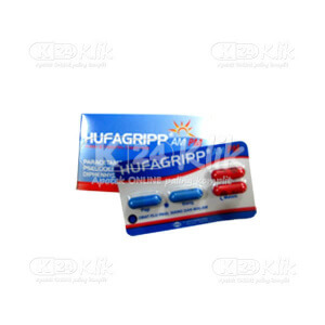 JUAL HUFAGRIP AM PM TAB STRIP 10S