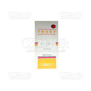 Apotek Online - TOCEF 100MG CAP