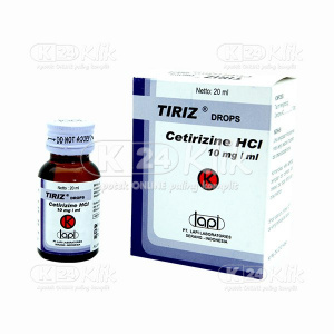 JUAL TIRIZ DROP 20ML 10MG/ML