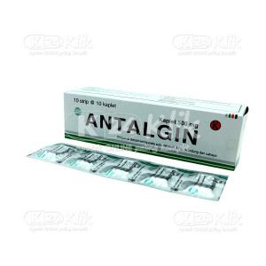 Apotek Online - ANTALGIN PHYTO 500MG TAB