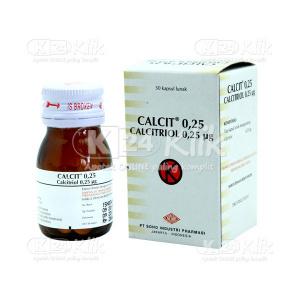 JUAL CALCIT CAP 0,25 UG 30S BTL
