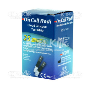 Apotek Online - ON CALL GLUCOSE STRIP 25S