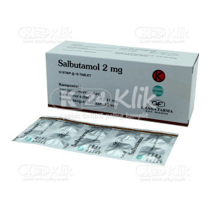 JUAL SALBUTAMOL 2MG GRAHA FARMA