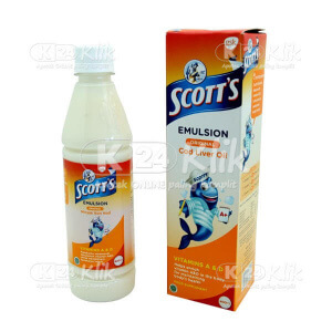 Apotek Online - SCOTTS EMULS ORIGINAL 400ML