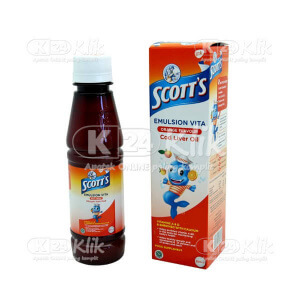 JUAL SCOTTS E VITA 200ML ORANGE