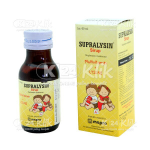 Apotek Online - SUPRALYSIN SYR 60ML