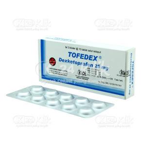 Apotek Online - TOFEDEX TAB 25 MG